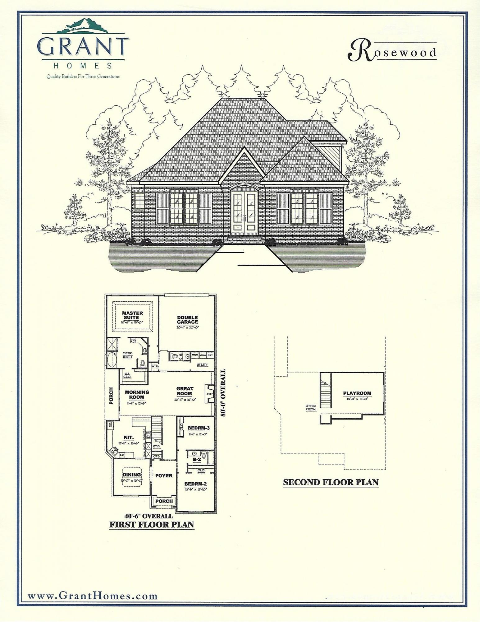 Amazing Rosewood House Plan Pictures Best Inspiration