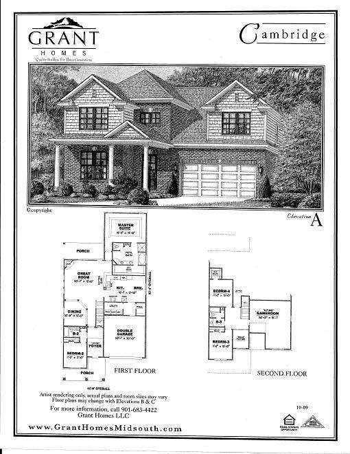 Grant Homes Floor Plans Home Plan